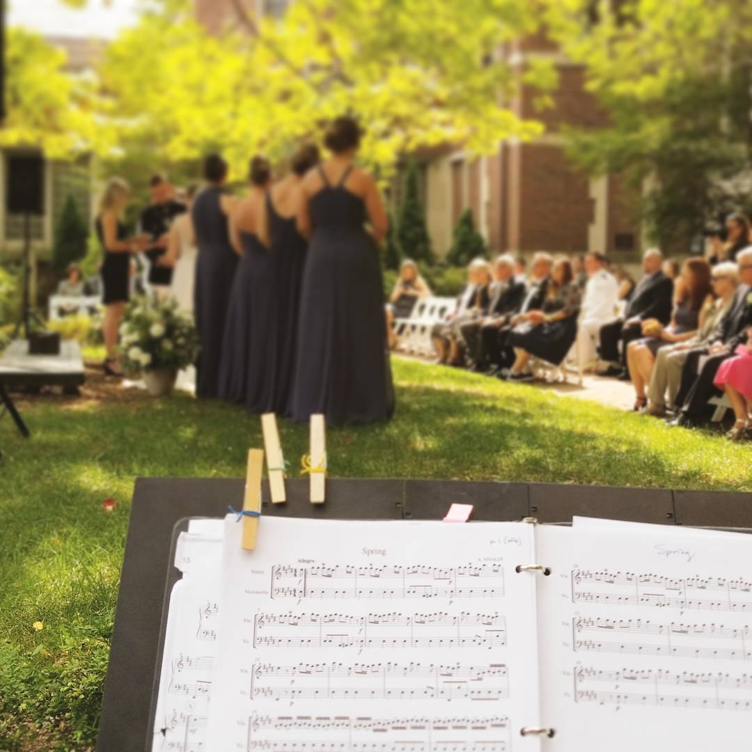 Wedding String Quartet & Ensemble in Detroit, MI
